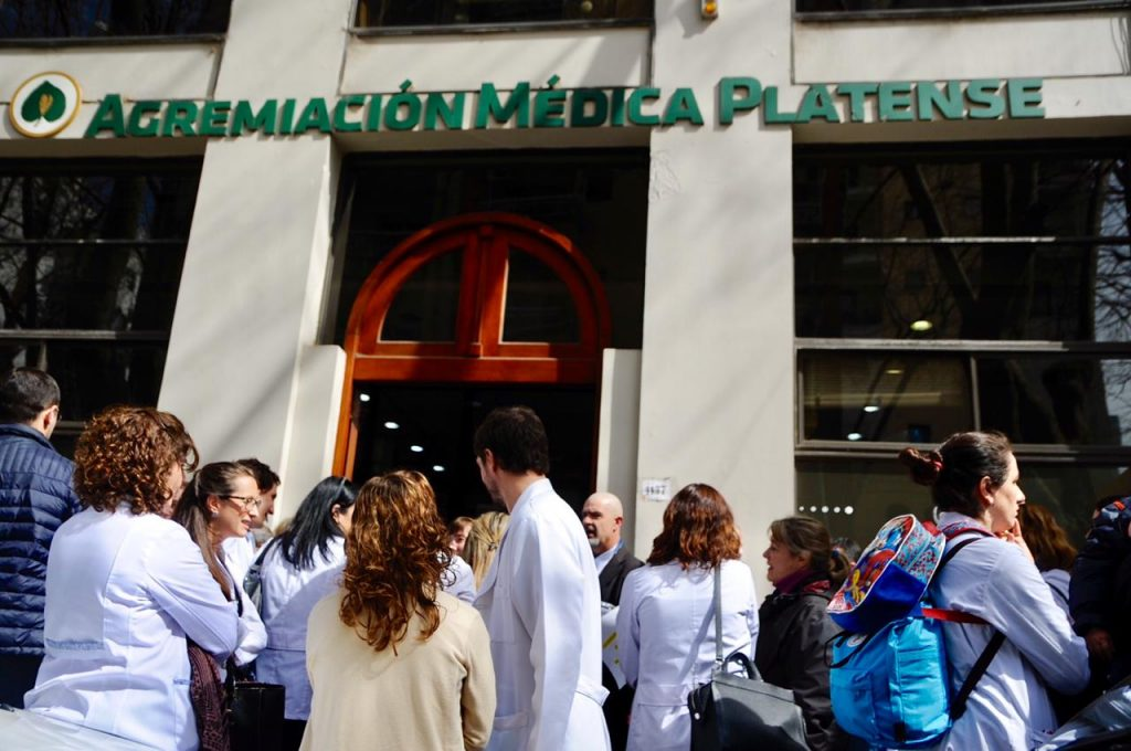 La Agremiación Médica Platense creó un sistema de consultas ...